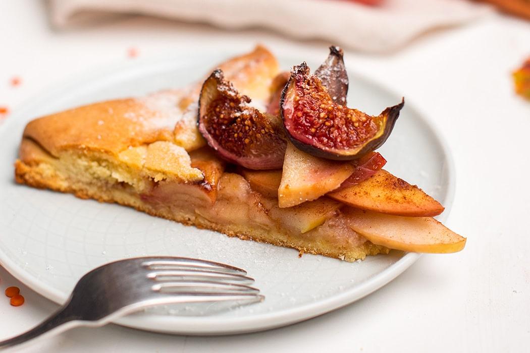 Fügés almás süti