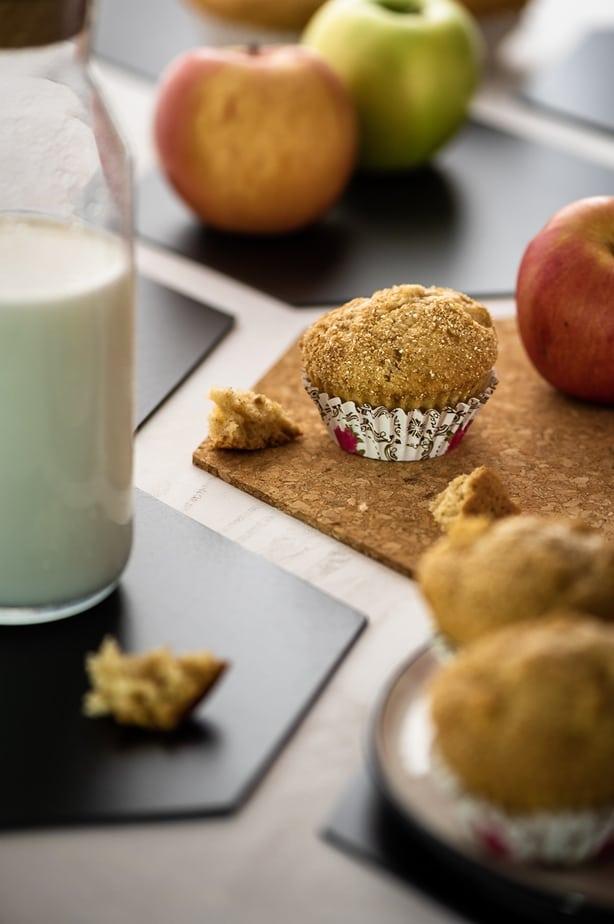 Almás muffin recept